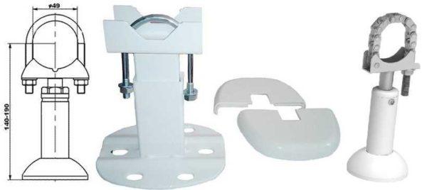Ножки для установки алюминиевых и биметаллических радиаторов на пол