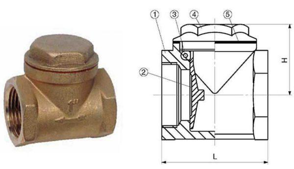 Устройство лепесткового клапана