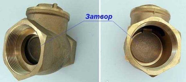 Этот обратный клапан используют в гравитационных системах отопления