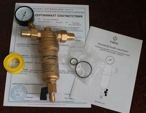 Выбираем фильтр грубой очистки воды: что это, обзор всех видов, лучшие производители грязевых фильтров