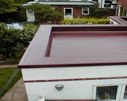 Плоская крыша с мягкой кровлей