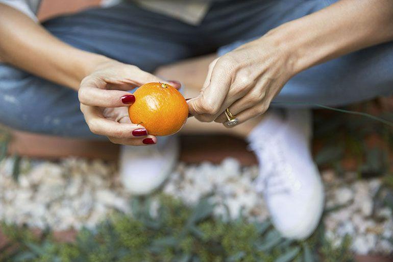 Мастер-класс по изготовлению мандаринового веночка
