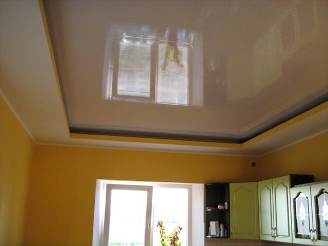 Потолок из панелей своими руками - как обшить потолок 92