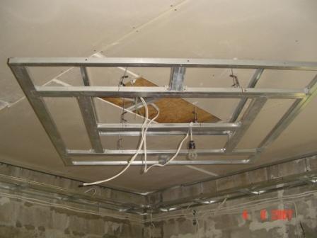 Двухуровневые потолки своими руками видео фото 960