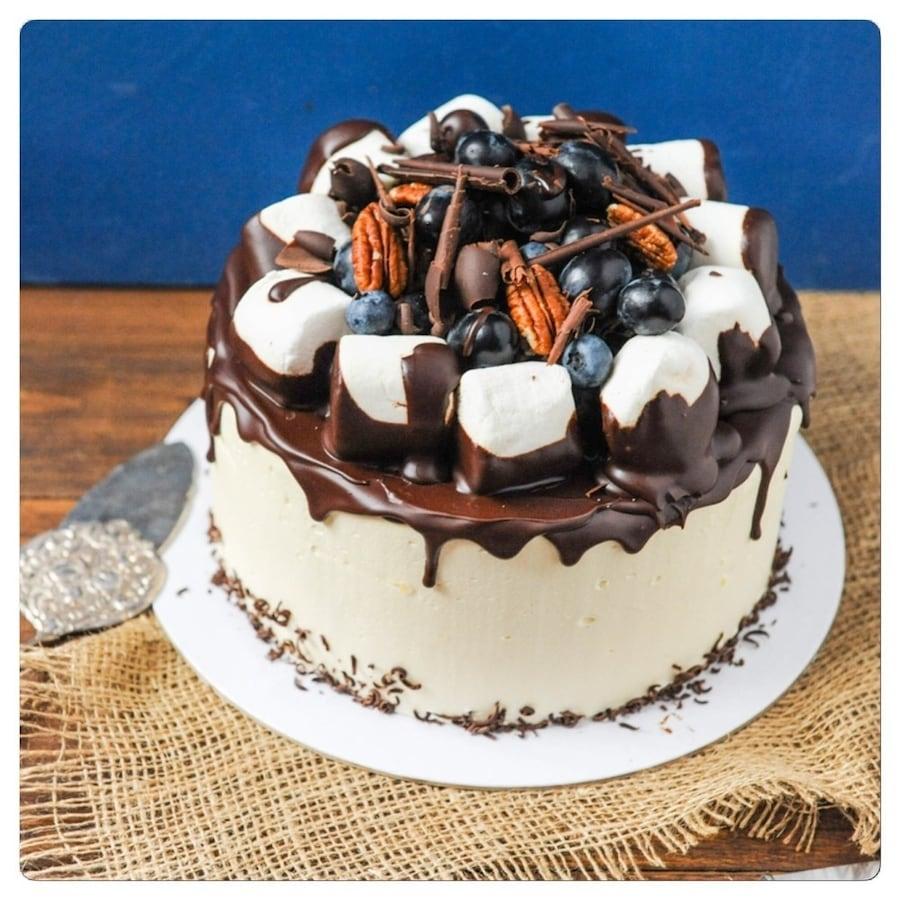 Украшение тортов дома