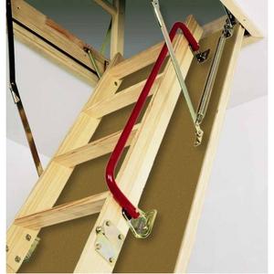 Лестницы чердачные - особенности установки