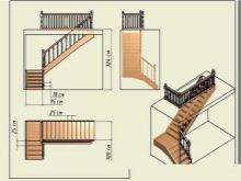 Лестницы деревянные на второй этаж
