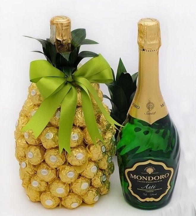 дольщики поздравления к подарку шампанское и ананасами для