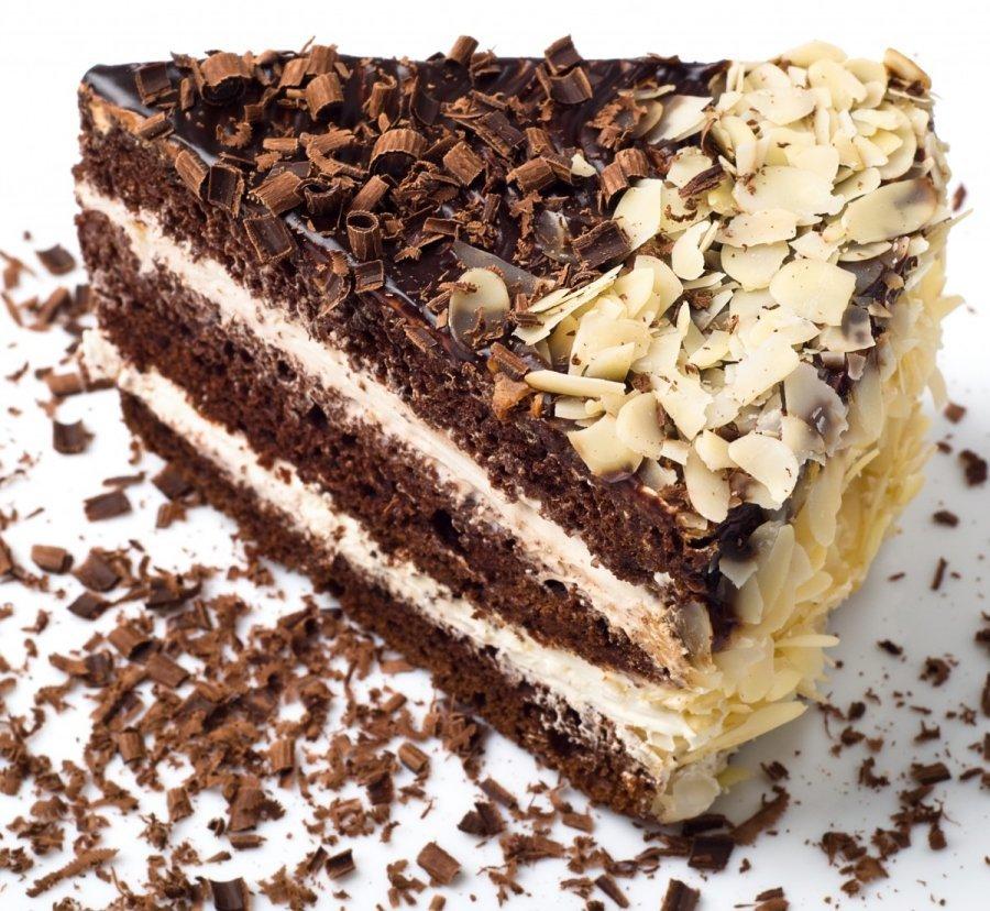 Красивое украшение на торт