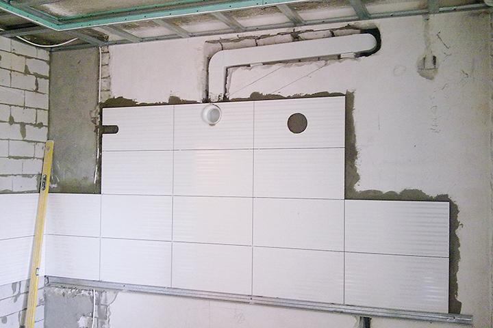 Вентиляционный канал в стене