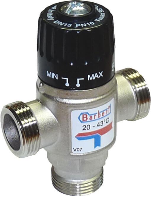 трехходовой клапан для отопления с электроприводом