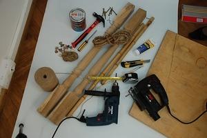 Материалы и инструменты, способ изготовления шведской стенки из дерева своими руками