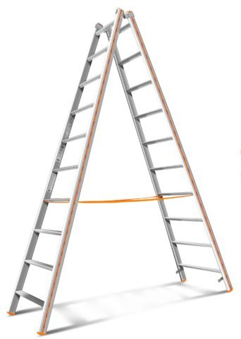 Лестницы стремянки приставные из алюминия