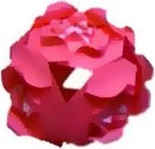 kusudama-roza