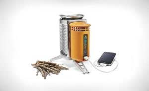 Походный генератор на дровах для зарядки телефона
