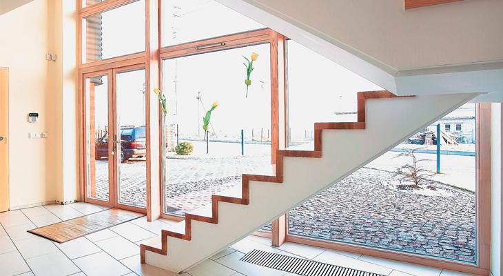 Лестница обязательно должна иметь правильный угол наклона