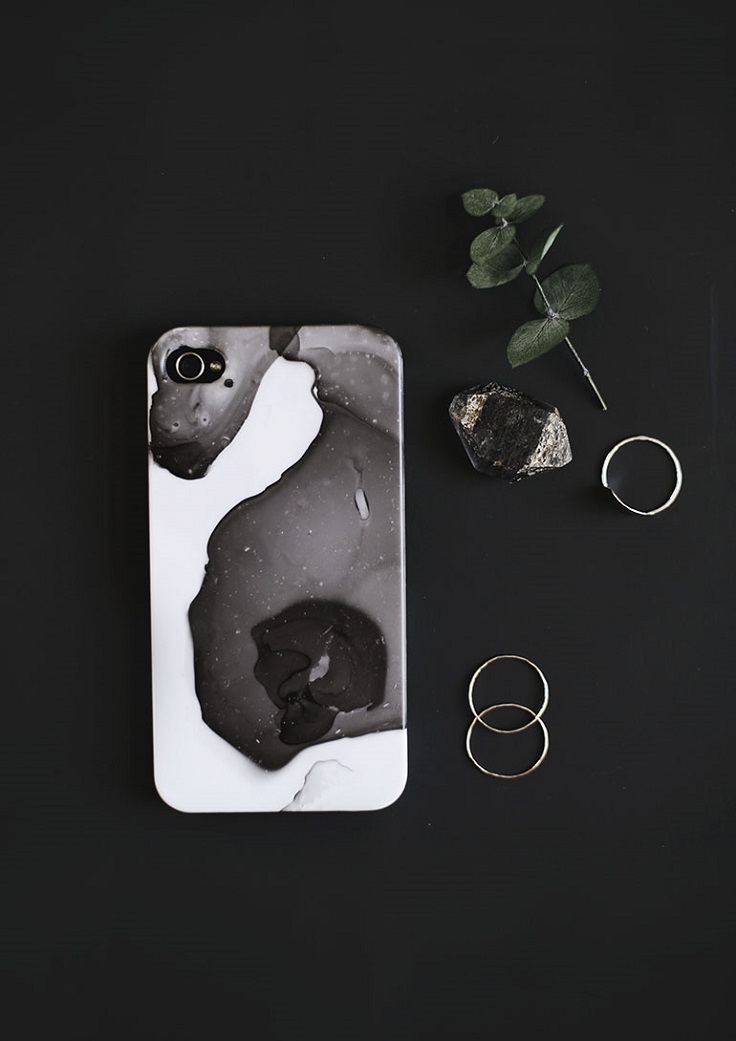 Marbled-Phone-Case