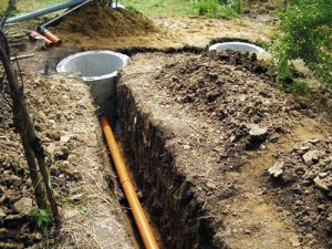труба наружной канализации