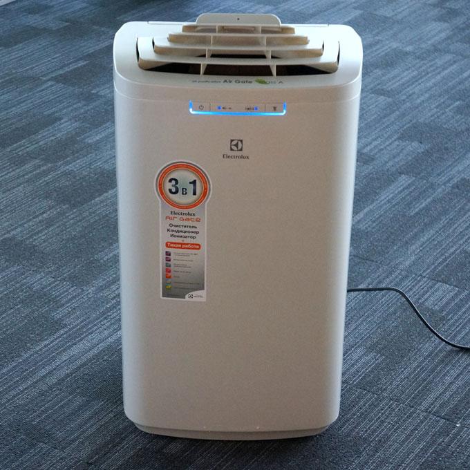 Electrolux EACM-10AG/TOP/SFI/N3_S – лучший маленький напольный кондиционер