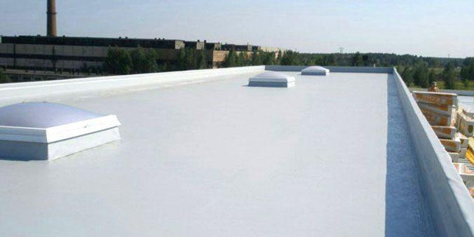 Плоские крыши производственных объектов
