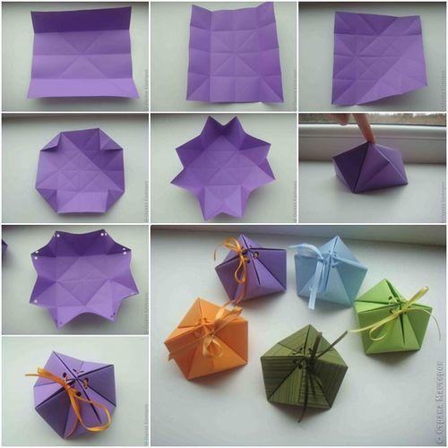 упаковка оригами