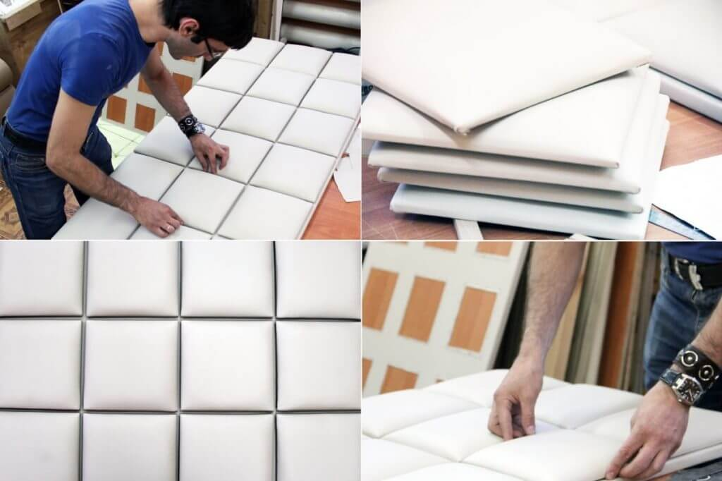 Мастер-класс по изготовлению мягких стеновых панелей