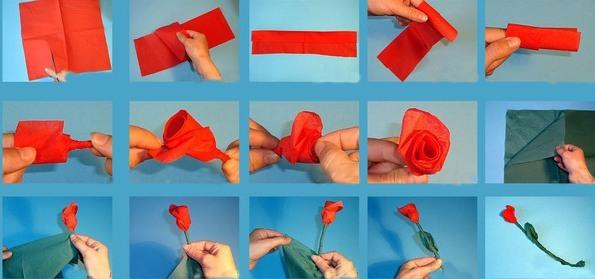 Цветы из бумаги своими руками. Мастер классы пошагового выполнения оригами с фото, шаблоны А4