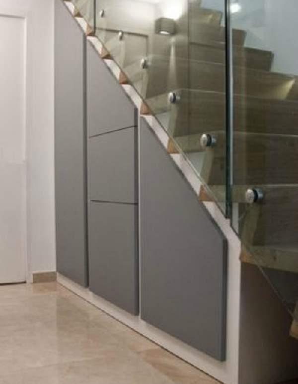 шкаф под лестницей, фото 20