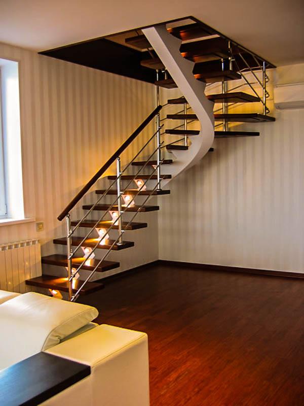 стационарная чердачная лестница