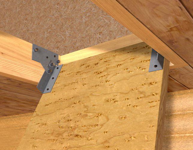 закрепление люка чердачной лестницы