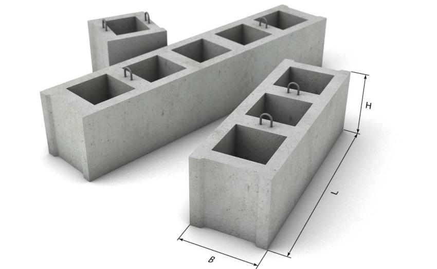 ФБП – блоки с одно- или двухсторонними пустотами для прокладки коммуникаций