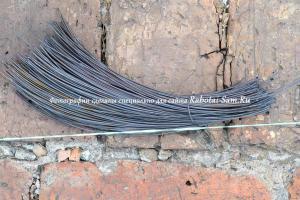 Правильная вязка арматуры при реставрации фундамента