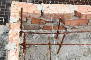 Реставрация старого фундамента