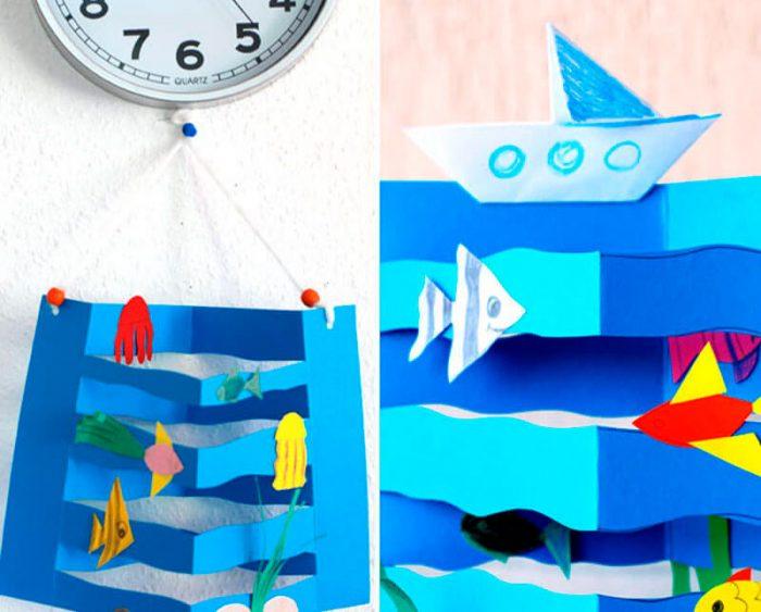 Море из бумаги