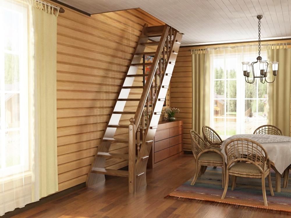 дорогу какую лестницу делают на второй этаж фото мамы