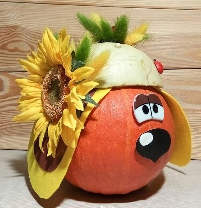 Осенняя поделка из овощей и фруктов своими руками порода
