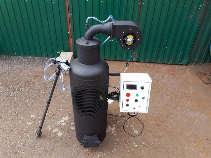 Принцип работы печки с капельной подачей горючего схож с механизмом работы дизельных двигателей