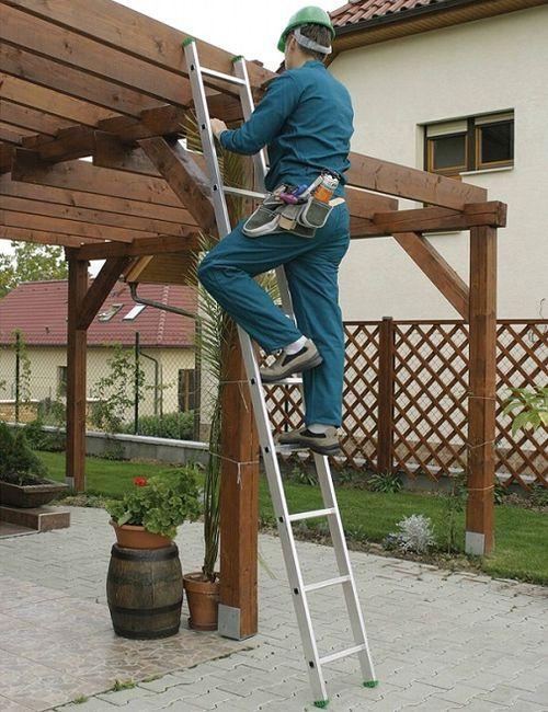 Нормативные требования безопасности к приставным лестницам