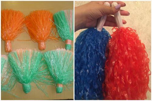 цветные султанчики