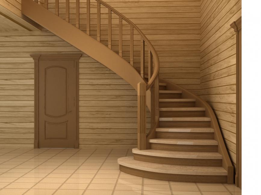 Важно, чтобы лестница гармонично сочеталась с декором и мебелью в помещении