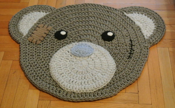 Детский коврик ручной работы