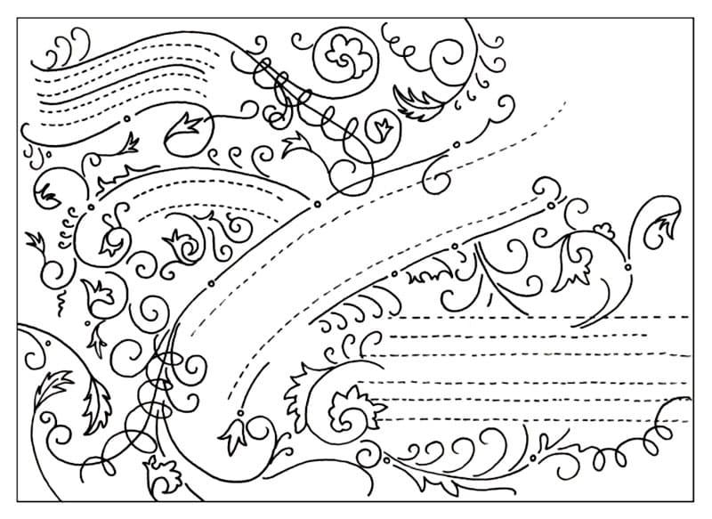 Шаблон в стиле винтажной типографики