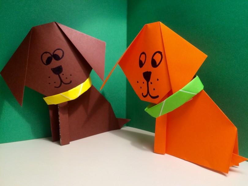 оригами щенок старшая группа фото севастопольцев есть