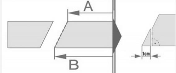 Обрезка нижней секции