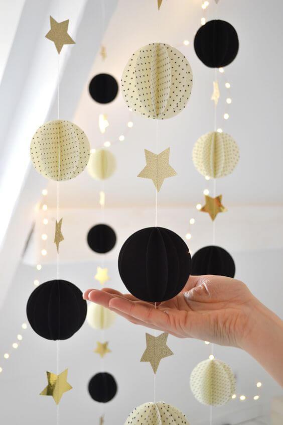 Сделать шар из бумаги шаблон