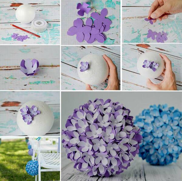 Как сделать шар из бумаги оригами