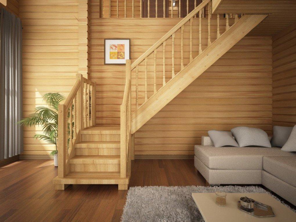 Лестницы для частных домов на второй этаж картинки