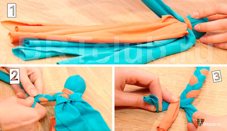 Плетём медузе ножки-щупальцы