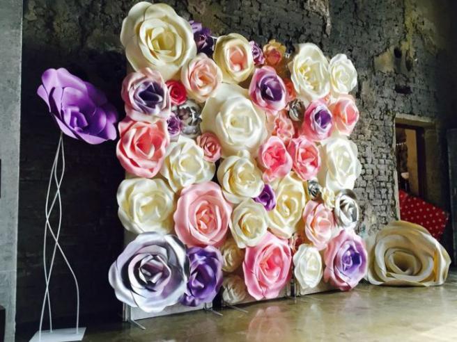 Цветы из бумаги — схемы и шаблоны для создания бумажных цветов этап 59