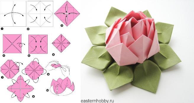Цветы из бумаги — схемы и шаблоны для создания бумажных цветов этап 131